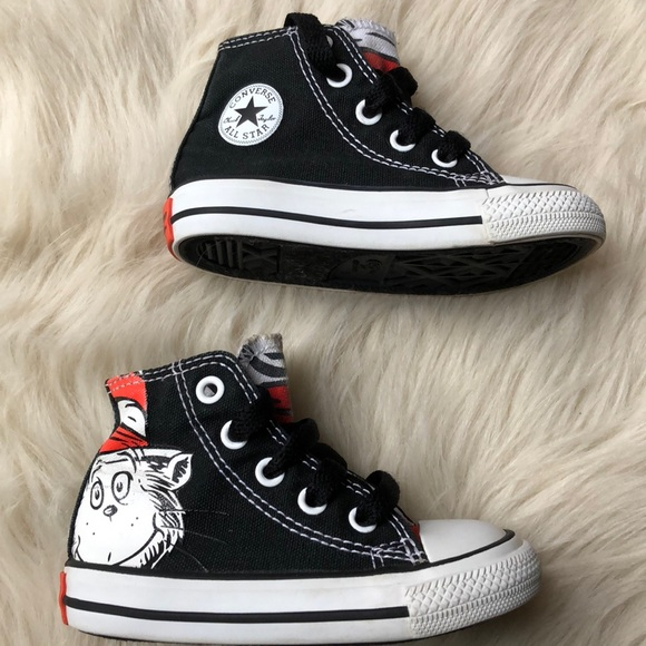 e4c317a14ee Converse Other - Chuck Taylor Dr Seuss Cat in the hat Converse